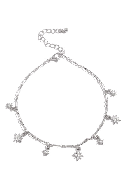 Celestial Creation Anklet - Silver