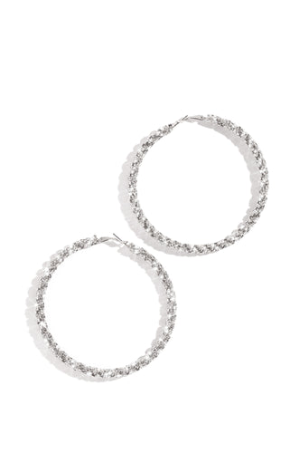 Explicit Night Earring - Silver