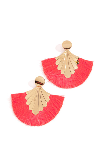 Make It Hot Earring - Neon Pink