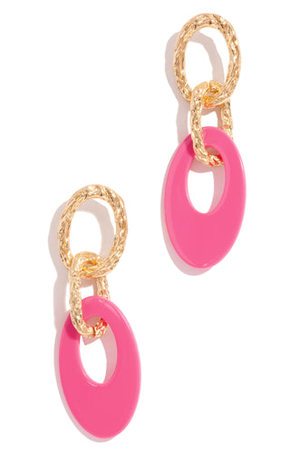 Cuban Sunsets Earring - Pink