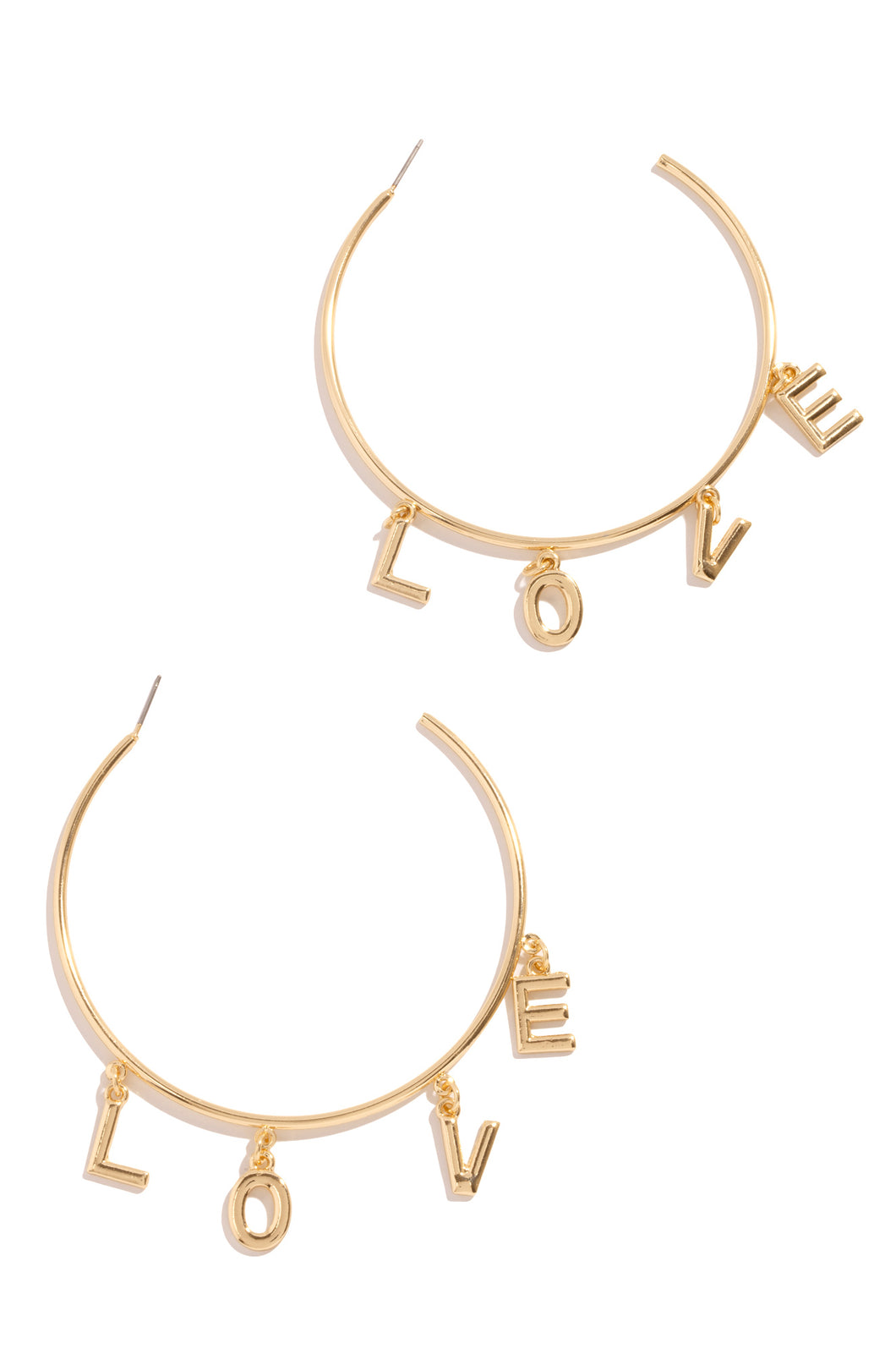 Love Wins Earring - Gold