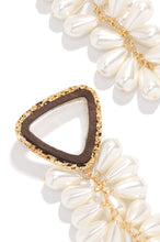 Private Resort Earring - Tan