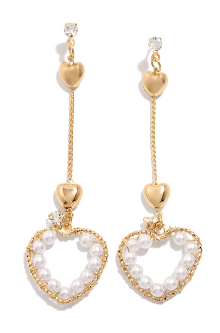 I'm In Love Earring - Gold