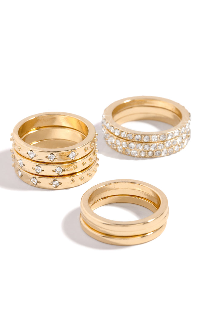 Mariana Ring Set - Gold