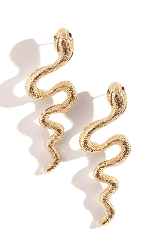 Serpentina Earring - Gold