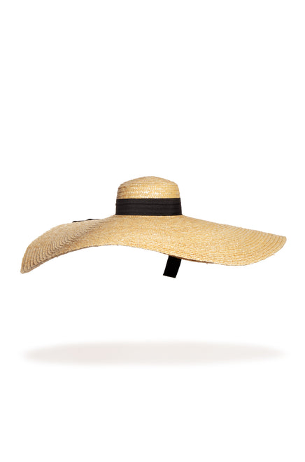 Palmeras Oversized Hat - Natural