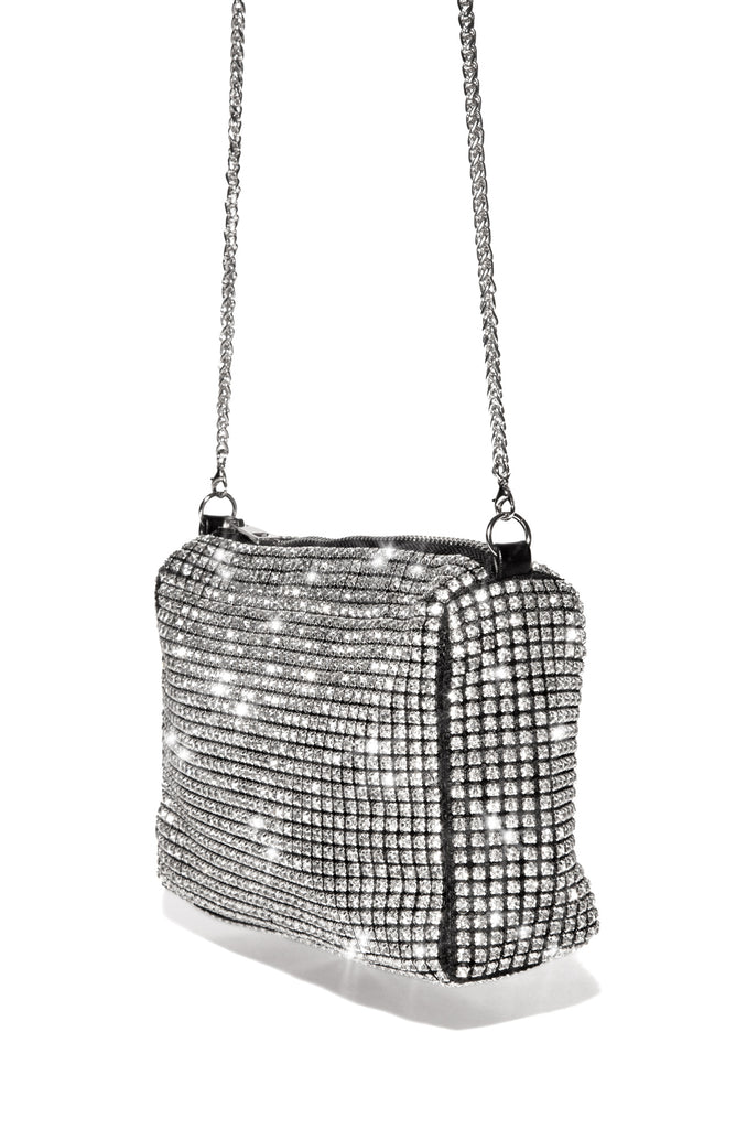 Lashes N Diamonds Hand Bag - Black