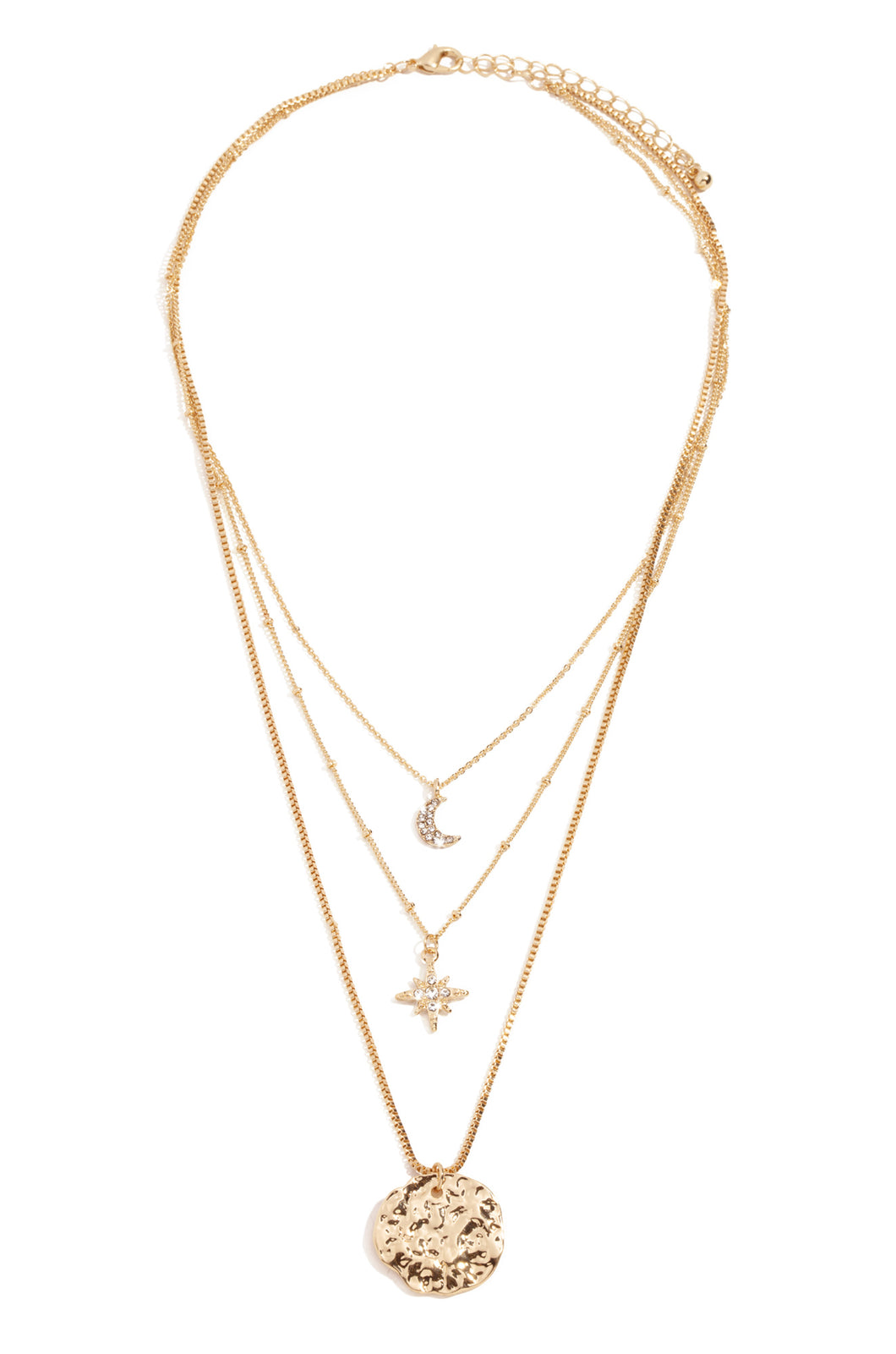 All The Stars Necklace - Gold