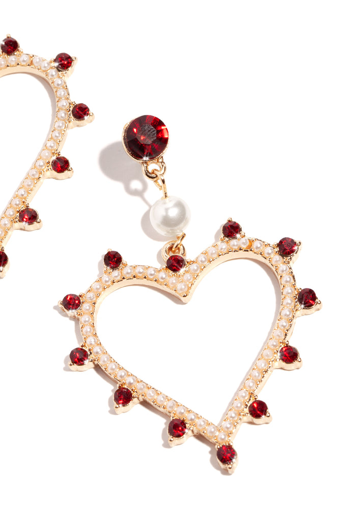 My Amore Earring - Red Gold