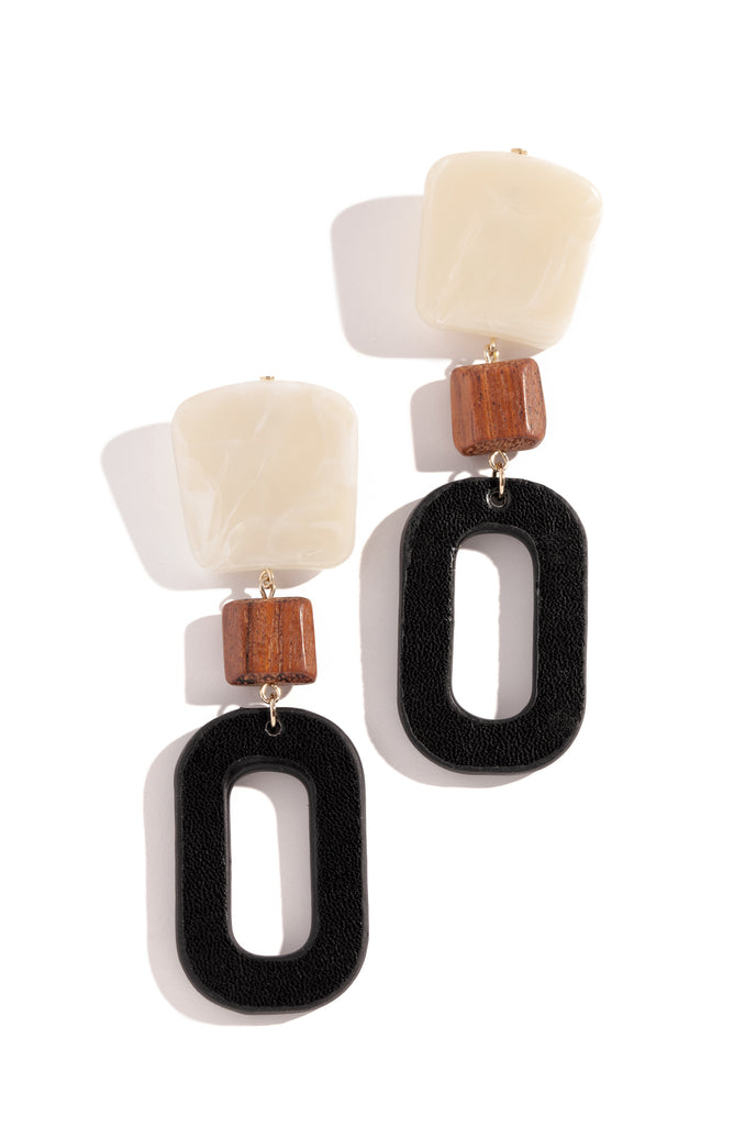 Cabo Nights Earring - Black