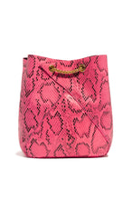 Sweet Sin Couture Bag - Pink Snake