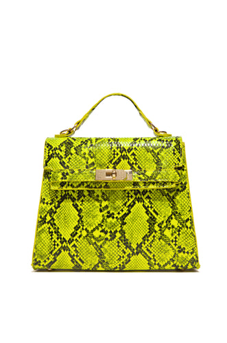 Saskia Crossbody - Neon Lime