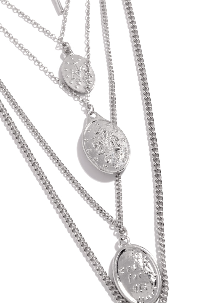 Heaven On Earth Necklace - Silver
