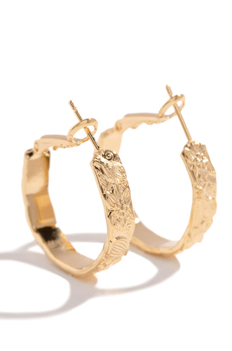 Aries Earring - Gold
