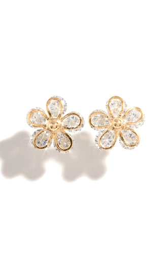 Fleur You Earring - Gold