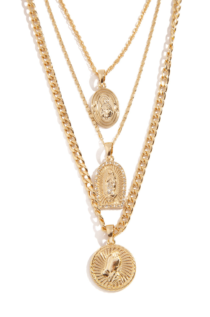 King Of Glory Necklace - Gold