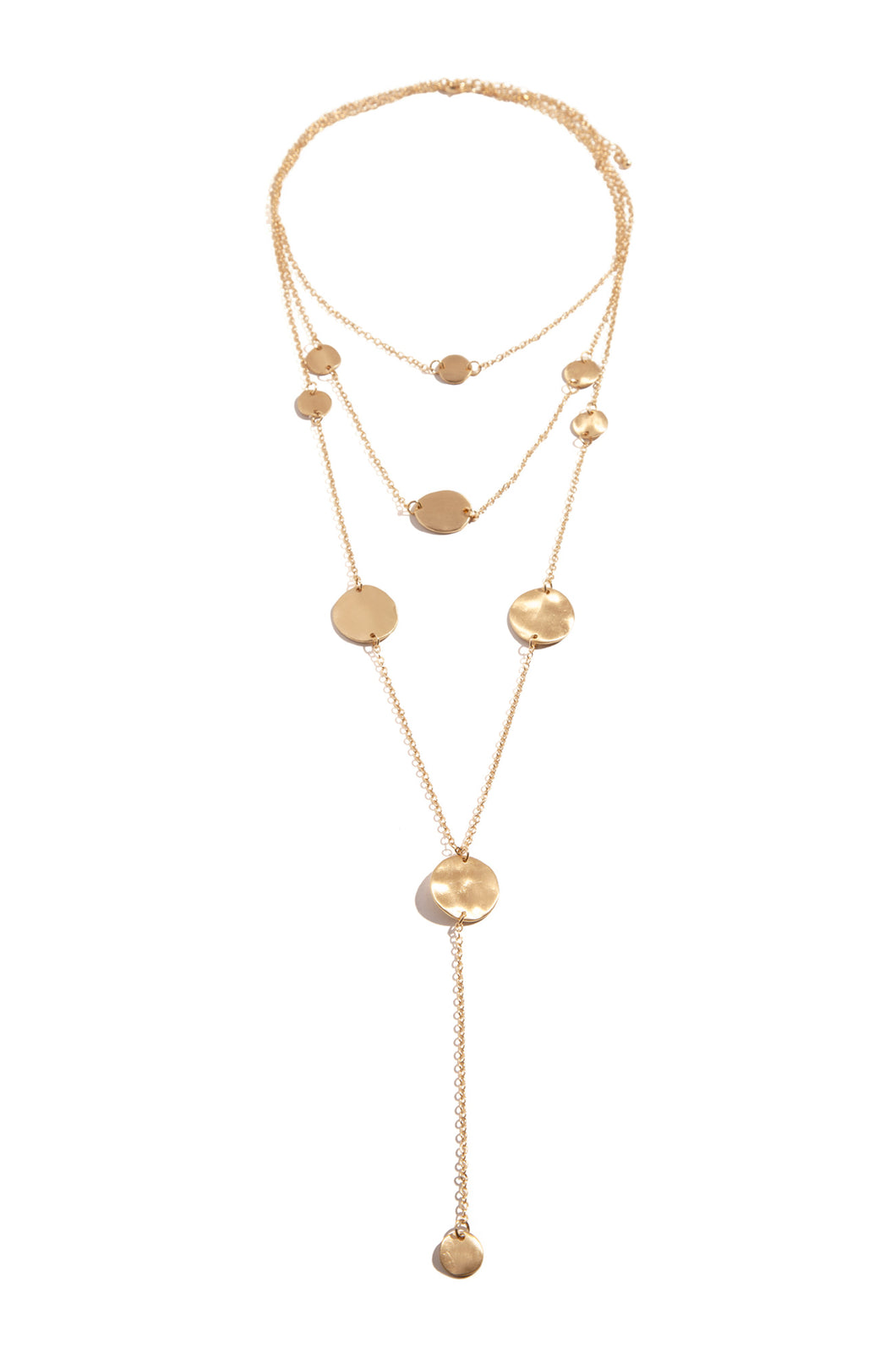 Lira Necklace - Gold