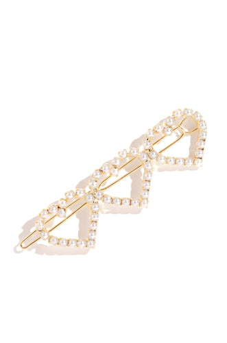 Darling Love Hair Clip - Gold