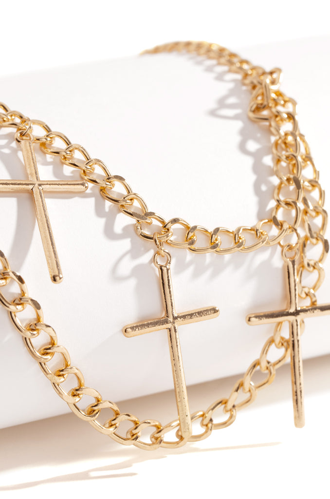 Good As Gold Chain Belt - Gold