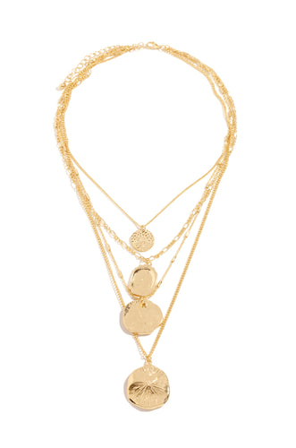 Aylin Necklace - Gold