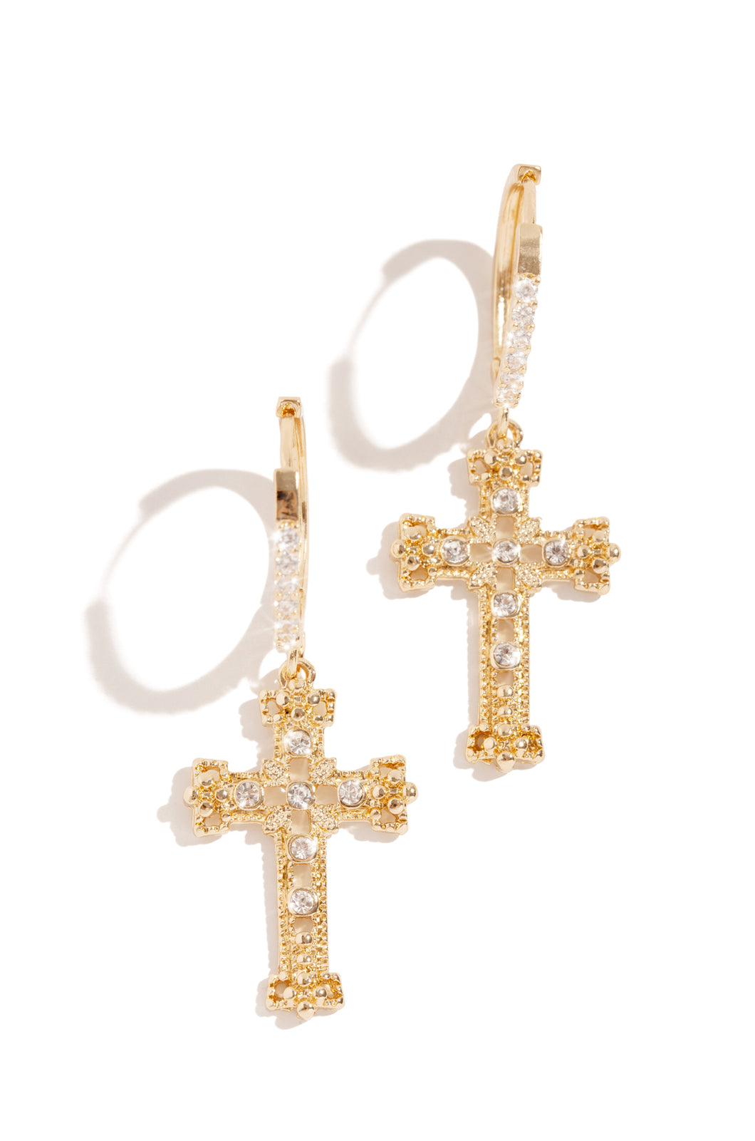Glory Is Yours Earring - Gold