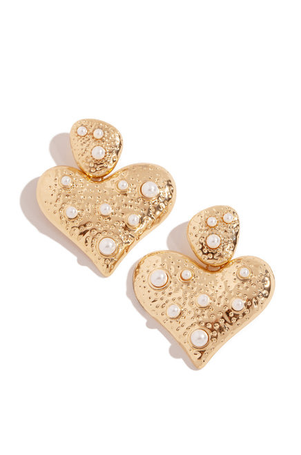 Tender Love Earring - Gold