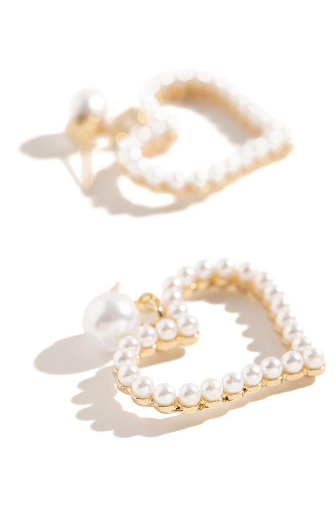 Pearlfection Earring - Gold