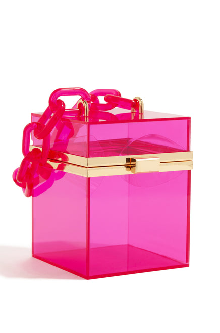 Vogue Edition Bag - Hot Pink