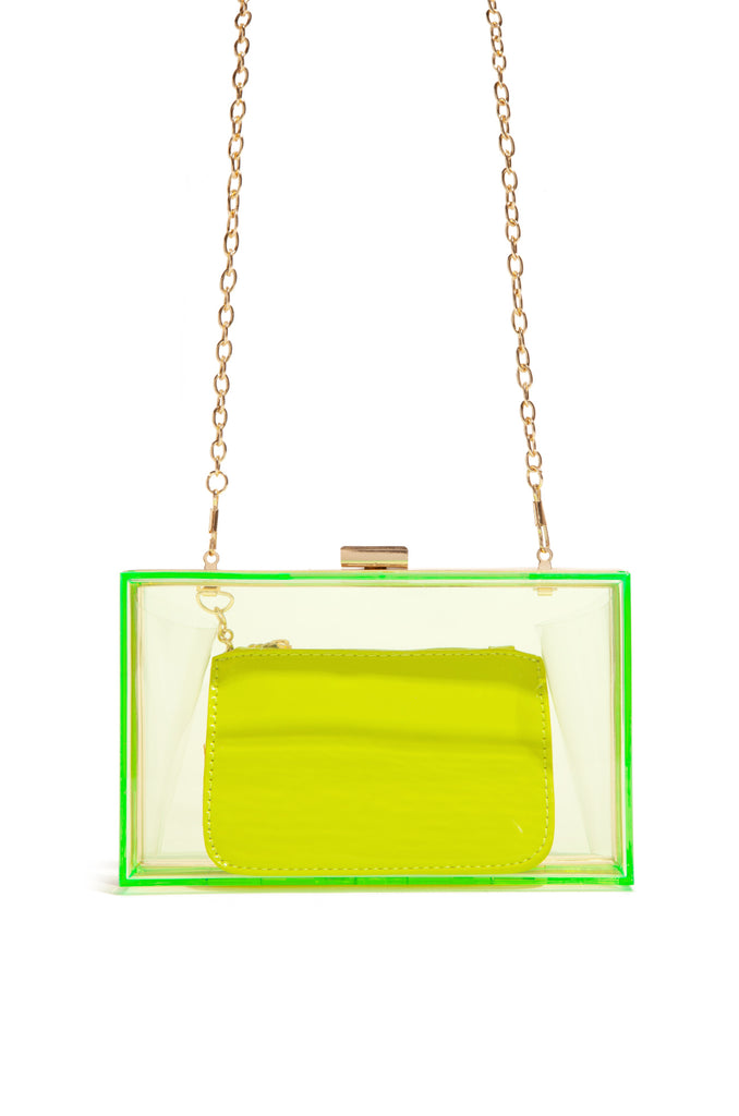 Luxe Exposure Bag - Neon Lime