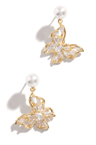 Born Beautiful Earring - Gold
