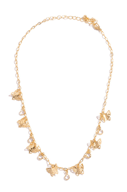 Heavenly Angel Necklace - Gold