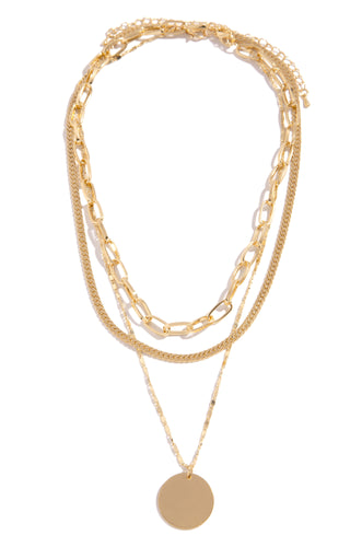 Sophia Necklace Set - Gold