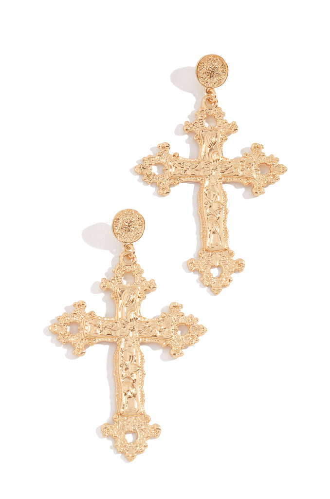 Good Karma Earring  - Gold