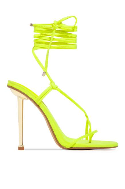 Into The Night - Neon Yellow