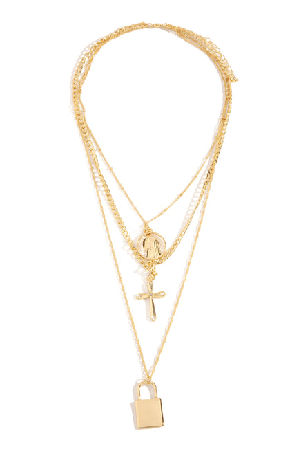 Siana Necklace - Gold