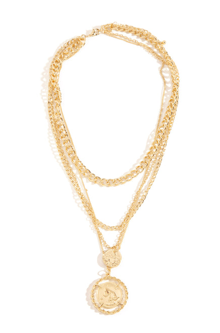Vira Necklace - Gold