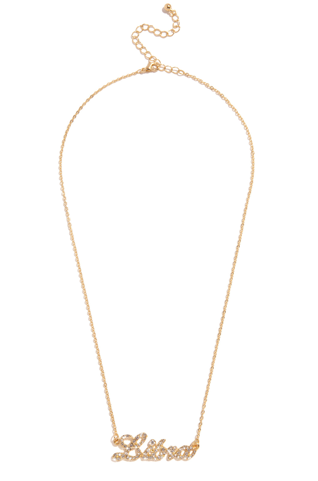 Libra Necklace - Gold