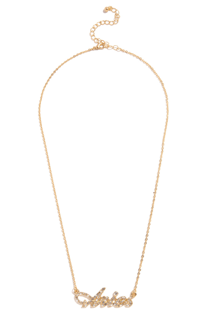 Aries Necklace - Gold