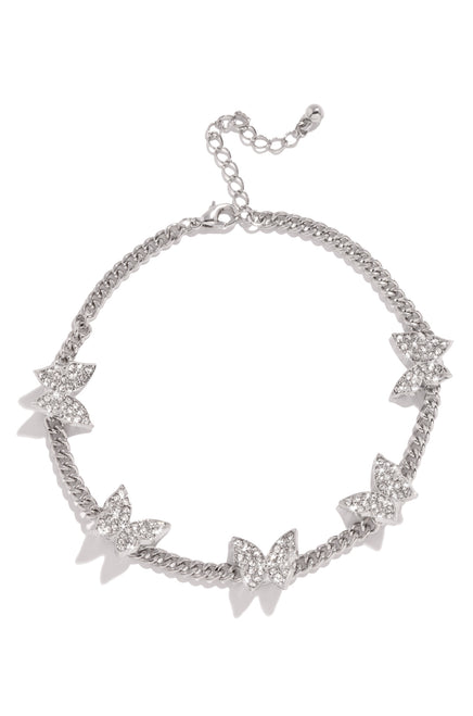 Masterpiece Anklet - Silver