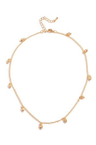 Es Amor Necklace - Gold