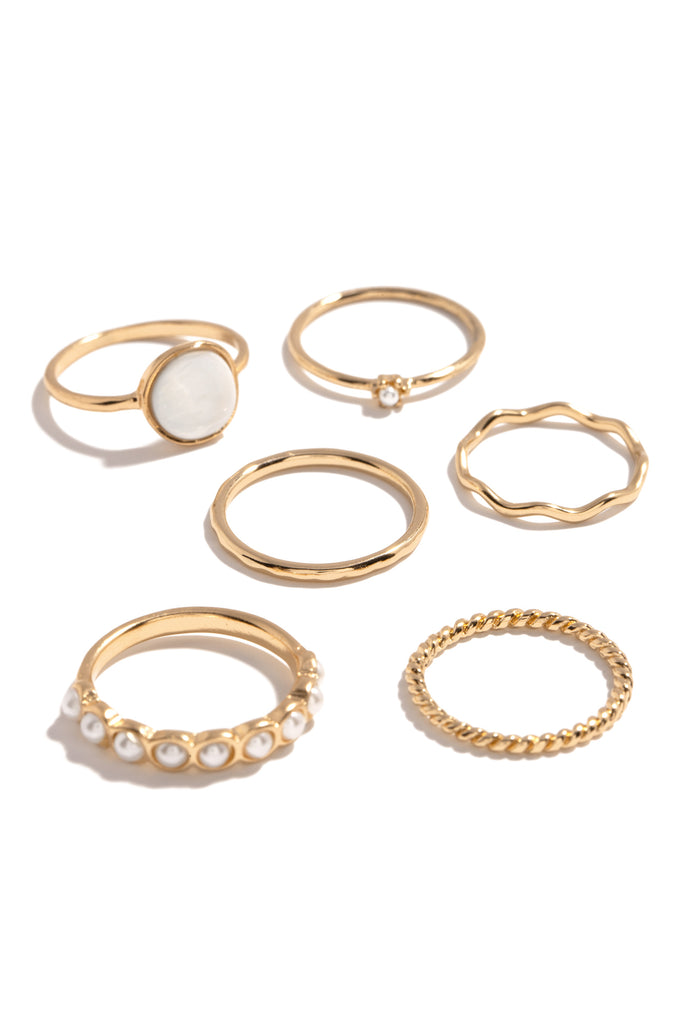 Oreli Ring Set - Gold