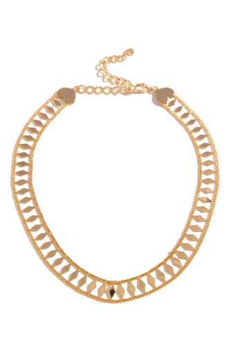 Isaline Necklace - Gold