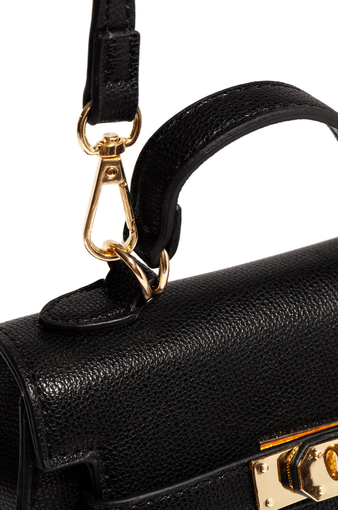Hold Me Close Mini Bag - Black