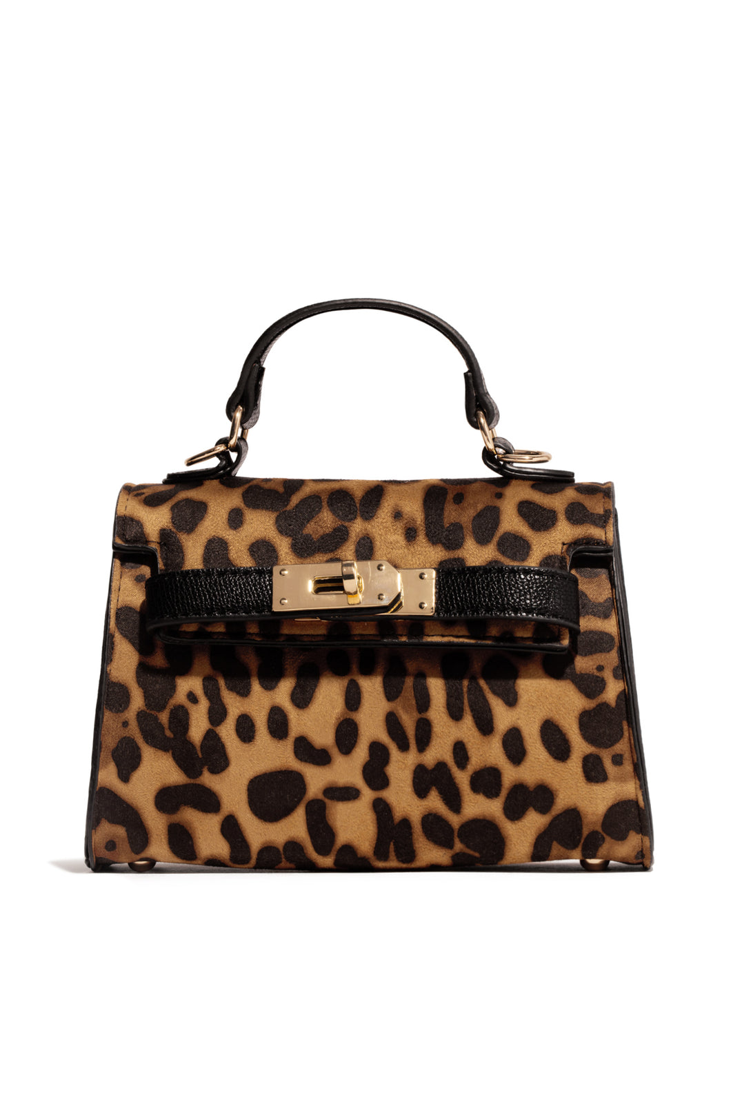 Hold Me Close Mini Bag - Leopard