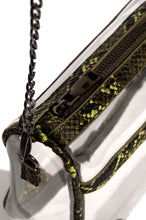 Haute Reveal Crossbody - Green Snake