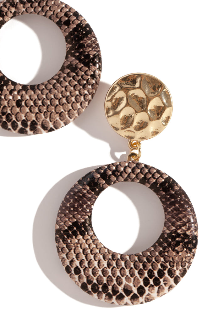 Wild Ones Earring - Snake