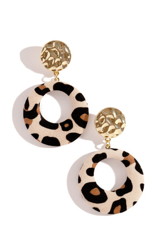 Wild Ones Earring - Leopard