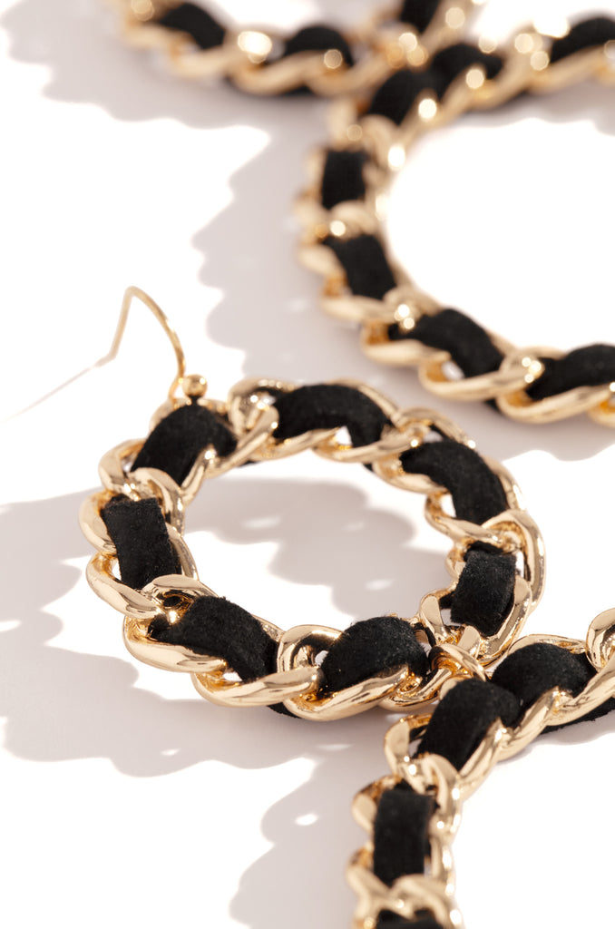 Alessandra Earring - Black