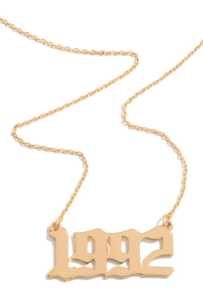 1992 Necklace - Gold