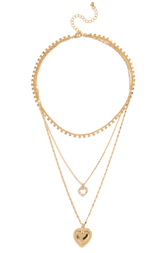 Bad Romance Necklace - Gold